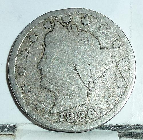Here is a 1896 Liberty Nickel in Good Grade ( 6564 )