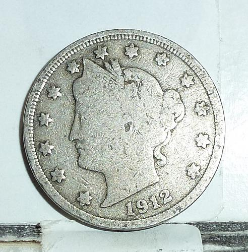 Here is a 1912 Liberty Nickel in Fine Grade ( 6580 )
