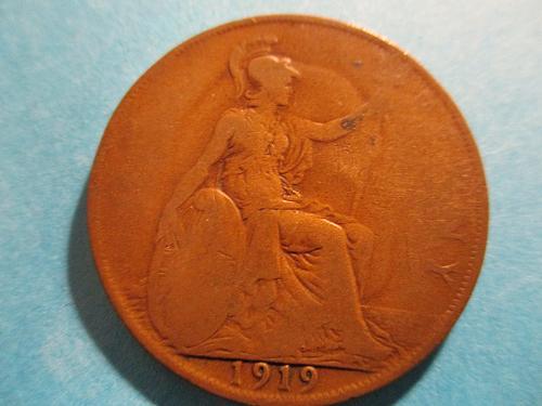 1919 UK Penny