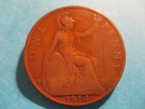 1914 UK Penny