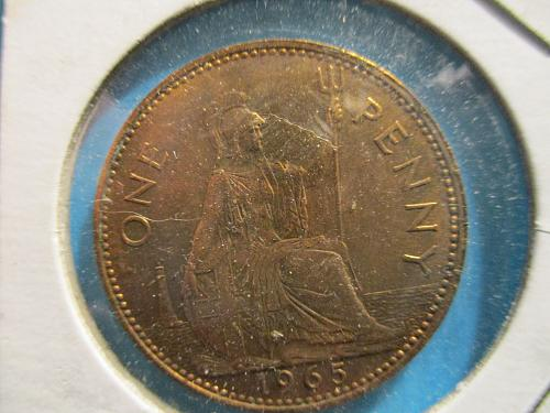 1965 One Penny UK