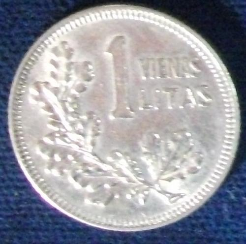 1925 Lithuania Litas XF