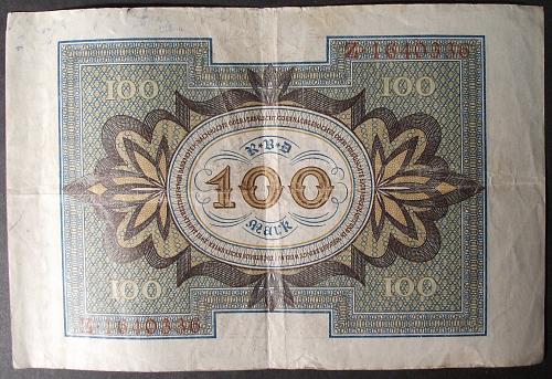 Germany P69a 100 Mark Fine