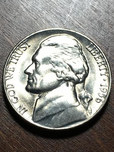 1956 Jefferson Nickel Item 0119013