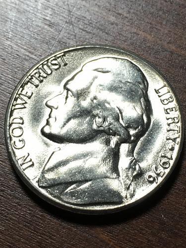 1956 D Jefferson Nickel Item 0119015