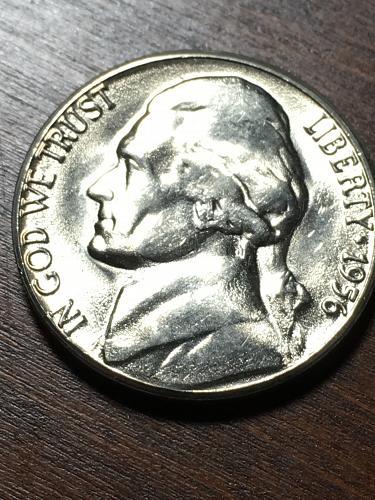1956 D Jefferson Nickel Item 0119016