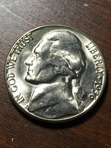 1956 D Jefferson Nickel Item 0119021