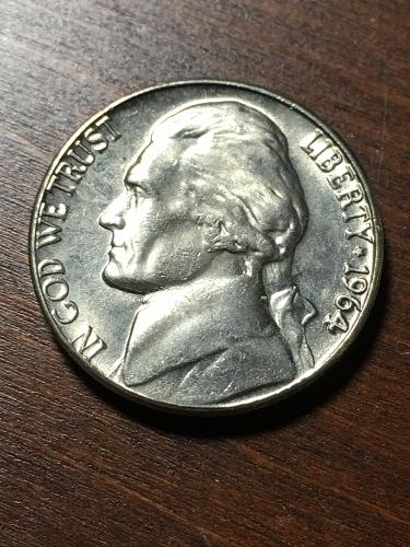 1964 Jefferson Nickel Item 0119025