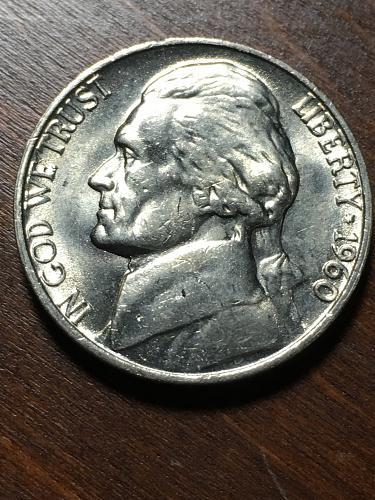 1960 Jefferson Nickel Item 0119043