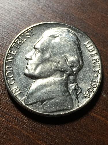 1964 Jefferson Nickel Item 0119044