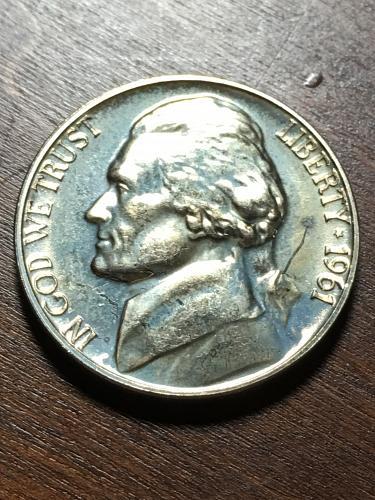 1961 Jefferson Nickel Item 0119054