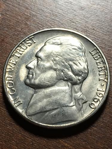 1960 D Jefferson Nickel Item 0119063
