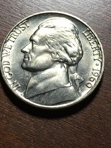 1960 Jefferson Nickel Item 0119064