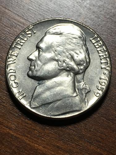 1959 Jefferson Nickel Item 0119070
