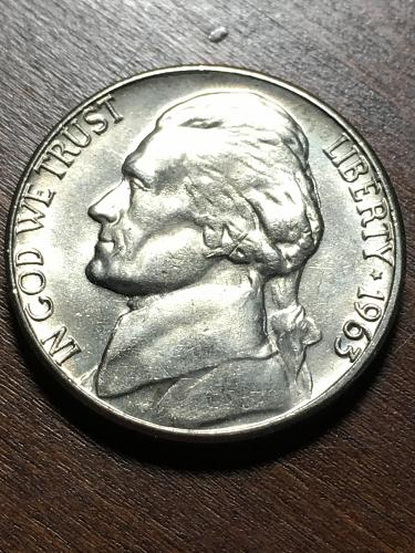 1963 D Jefferson Nickel Item 0119076