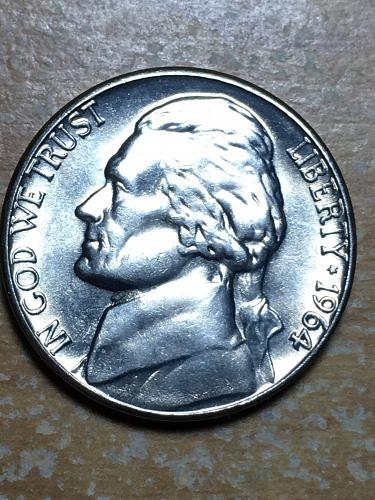 1964 D Jefferson Nickel Item 0119082
