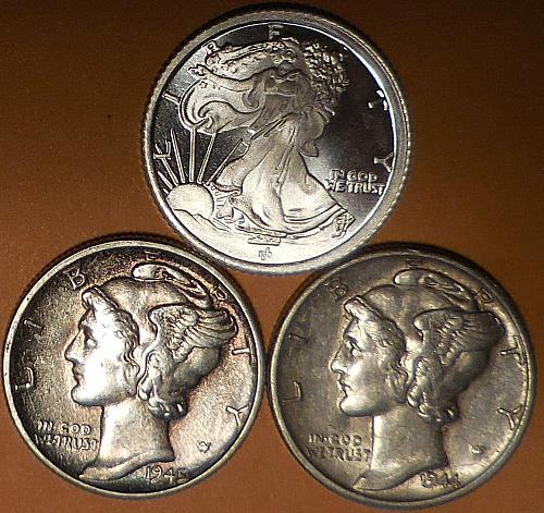 Three Easy Pieces Silver