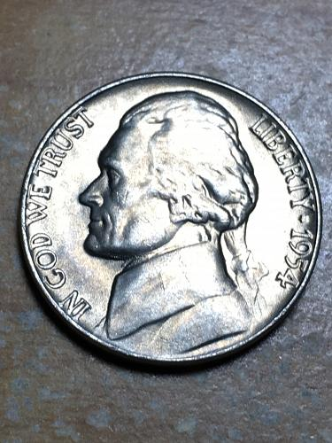 1954 Jefferson Nickel Item 0119105