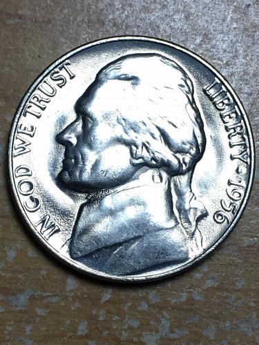 1956 Jefferson Nickel Item 0119123
