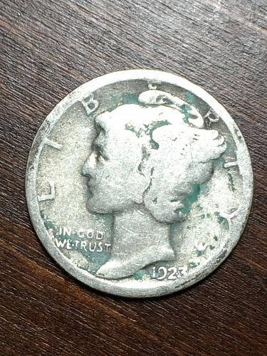 1923 Mercury Dime Item 0119135