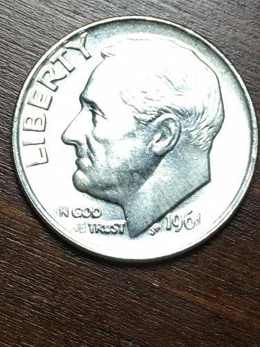 1961 Roosevelt Dime Item 0119197