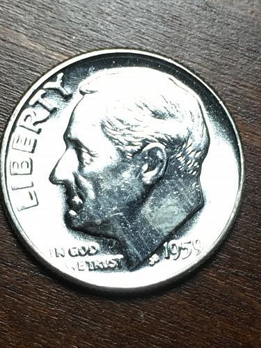 1959 Roosevelt Dime Item 0119200