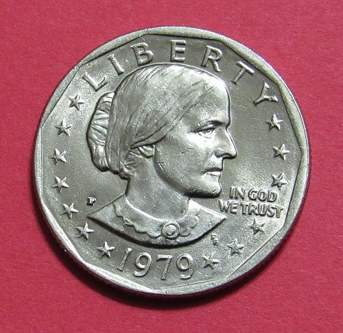 1979-P $1 Susan B. Anthony Dollar