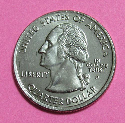2007-P 25 Cents Washington State Quarter - Uncirculated from Mint Roll