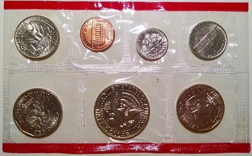 1981 PD Uncirculated Mint Set