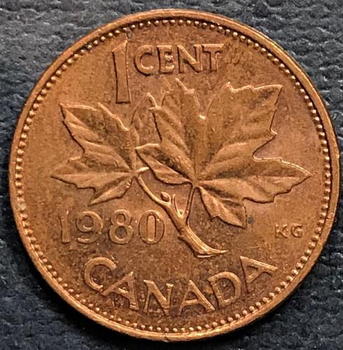 Canada 1980 = 1 Cent