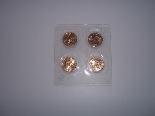2015 PRESIDENTIAL $1 FOUR-COIN SET D
