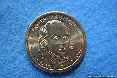 2007 D Presidential Dollars: James Madison