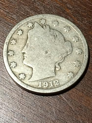 1912 Liberty Nickel Item 0119273