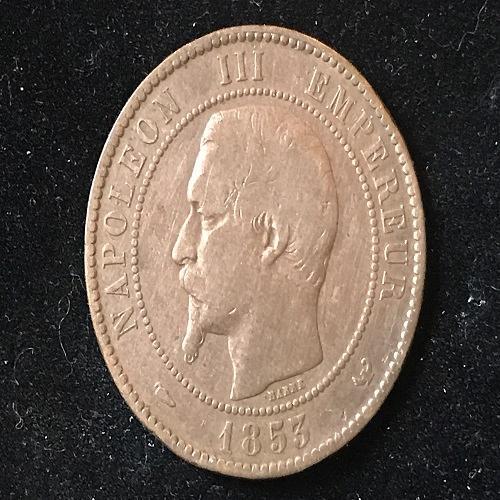 1853 * Tokens * (France Merchandise Tokens) Bronze-Silver-Gold foreign coin exon