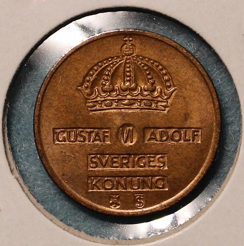 Sweden 1952 1 ore