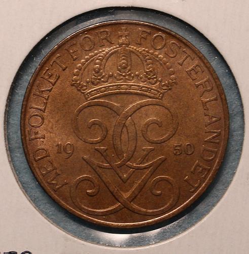 Sweden 1950 5 ore