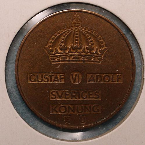 Sweden 1965U 5 ore