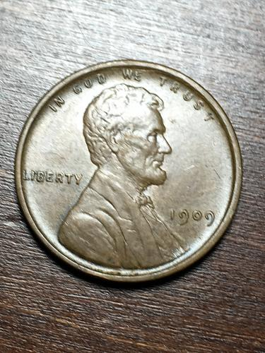 1909 VDB Lincoln Wheat Cent Item 0119289