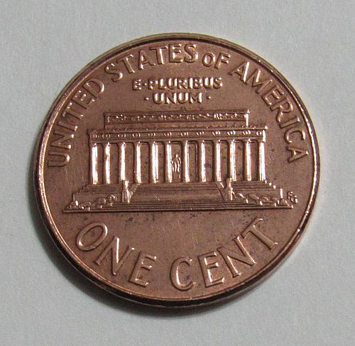 2007 1 Cent Lincoln Memorial Cent