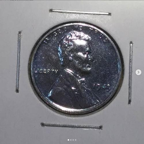 1943 P Steel Wheat Penny