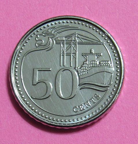 2016 Singapore 50 Cents