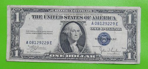 1935-C $1 US Banknote - Silver Certificate