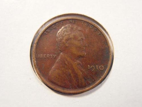 1910 Lincoln Cent, AU (10PJF2)