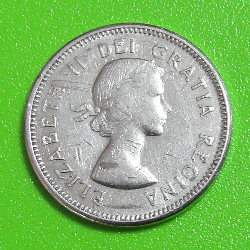 1964 Canada - 25 Cents - Beaver