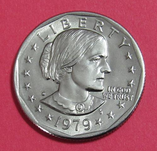 1979-D $1 Susan B. Anthony Dollar