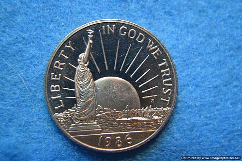 1986 S Statue of Liberty Commemorative Half Dollar Proof