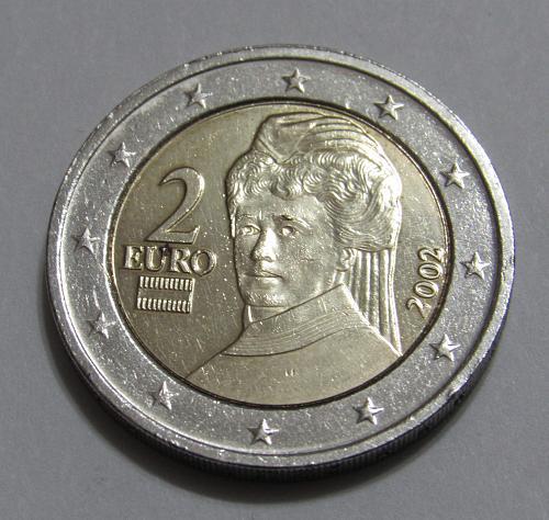 2002 Austria 2 Euro