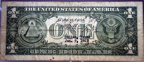 1957 A $1 Silver Certificate
