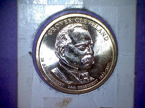 2012 P Presidential Dollar: Grover Cleveland