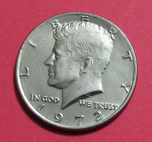 1972 50 Cents - Kennedy Half Dollar